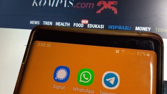 WhatsApp Sering Down, 70 Juta Pengguna Beralih ke Telegram