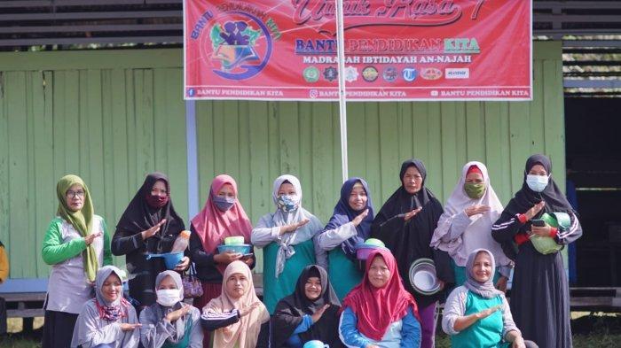 Komunitas Bantu Pendidikan Kita Gelar Unjuk Rasa Ke 7 Desa Sungai, Asam Kubu Raya