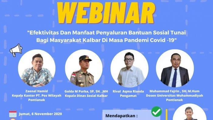 BEM PNP Gelar Webinar Bahas Efektivitas BLT di Masyarakat