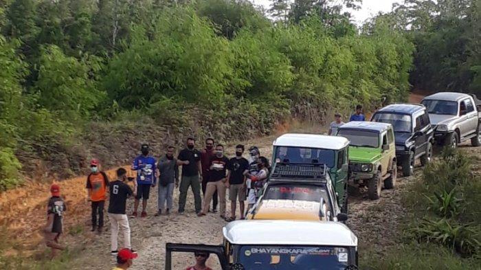 Selaraskan Hobi, Komunitas Bhayangkara Jip Sanggau Kenalkan Wisata, Otomotif dan Sosial