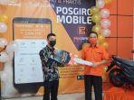 Pria Asal Ngabang, Dapat Sepeda Motor Lewat Aplikasi Pos Giro Mobile