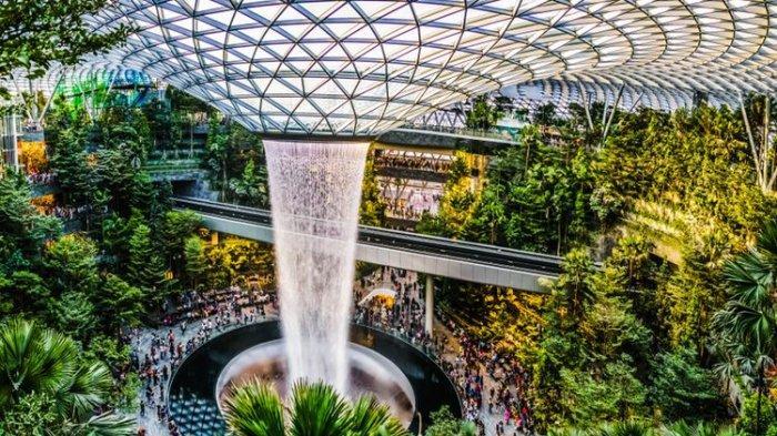 Jewel Changi Airport Singapura Kini Dibuka Kembali, Siapa yang Bisa ke sana?