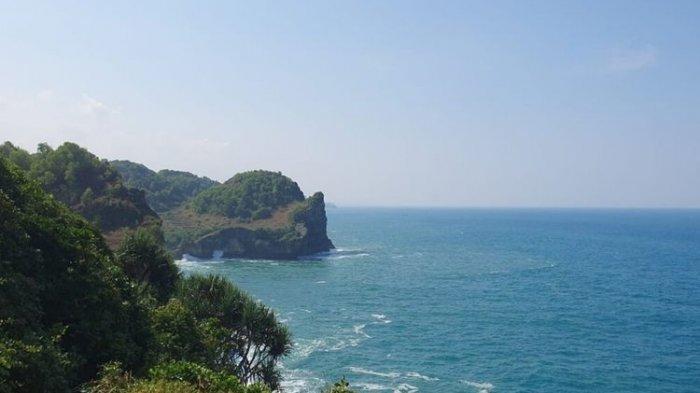 Kawasan Tebing Laut Ngungap, Girisubo, Gunungkidul