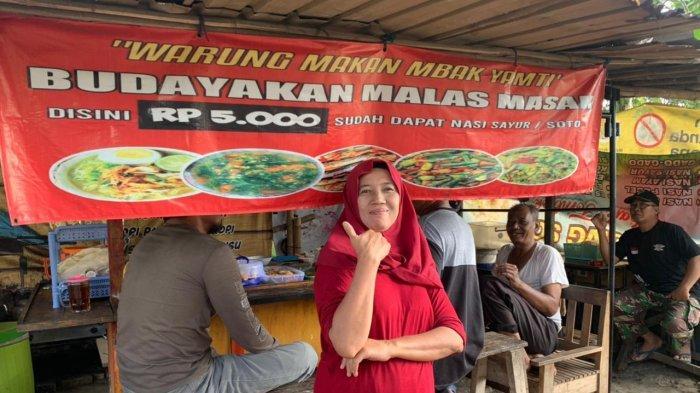 Warung Aneka Sayur dan Soto di Pasar Kliwon Jual Masakannya Hanya Rp 5 Ribu, Pembeli Tak Pernah Sepi