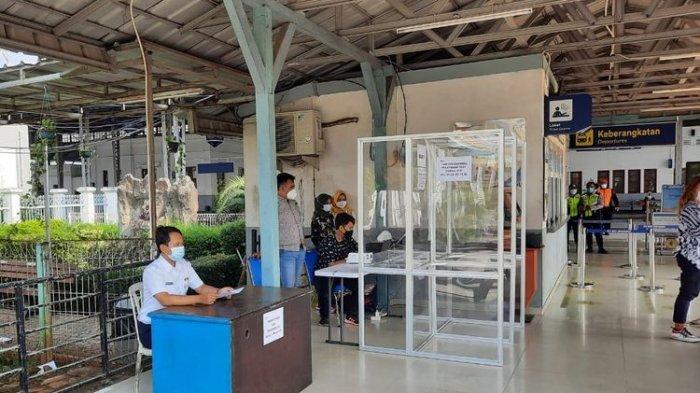 Stasiun Cikampek di Jawa Barat Kini Layani GeNose untuk Penumpang KA Jarak Jauh