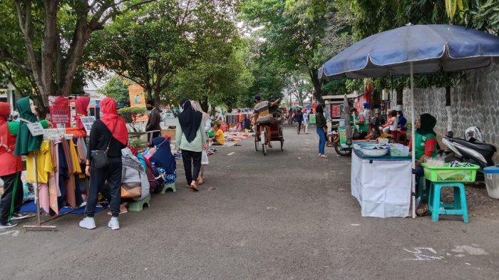 Setelah Tutup Selama Setahun Lebih, Pasar Tiban di Sragen Kembali Digelar di Halaman Stadion Taruna