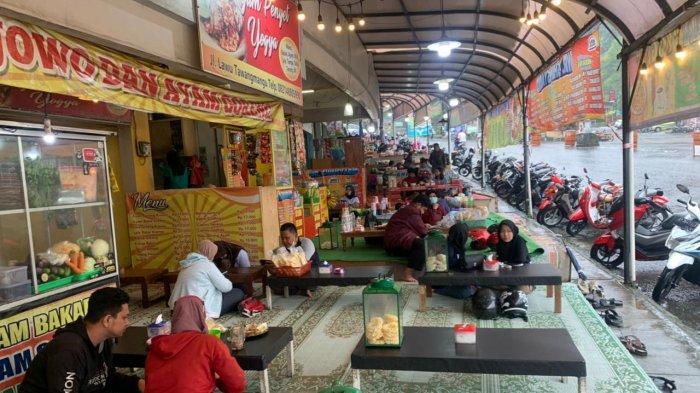 Kasus Covid-19 Meningkat di Solo Raya, Banyak Wisatawan Nekat Kulineran di Puja Sera Tawangmangu