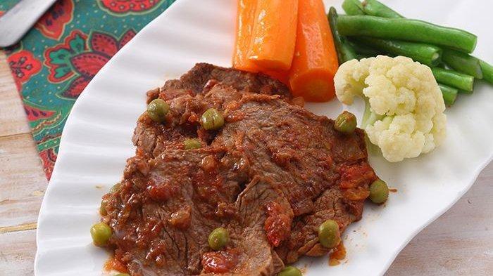 Resep Bistik Daging Saus Inggris, Sajian Mewah Ini Bisa Disantap Saat Acara Spesial