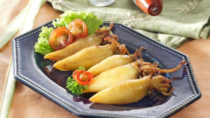 Resep Cumi Goreng Kuning, Menu Seafood Sederhana Cocok Untuk Makan Malam