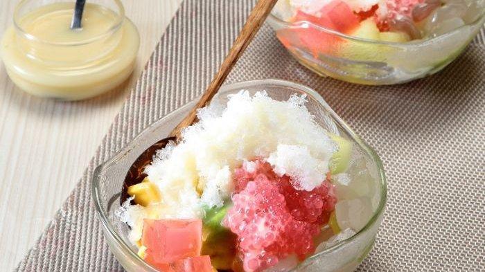 Resep Es Oyen, Minuman Segar yang Tampil Sangat Mengesankan