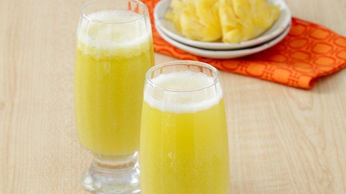 Resep Jus Kedondong Nanas, Minuman Dingin Segar, Bisa Untuk Diet di Pagi Hari