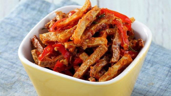 Resep Kering Tahu Rebon Enak, Menu Pelengkap Harian Cocok Untuk Makan Siang