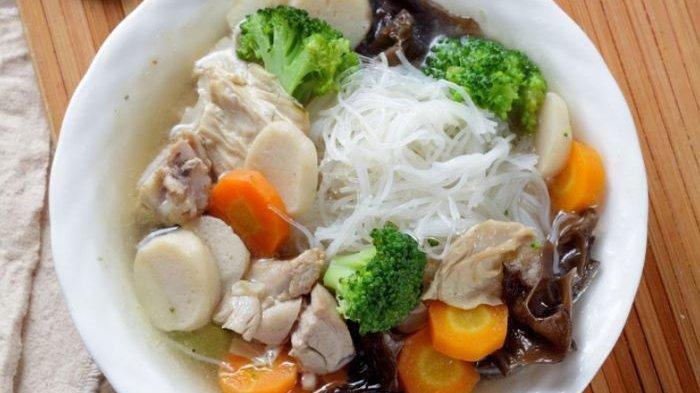 Resep Sop Bakso Ikan Kembang Tahu, Sajian Berkuah Nikmat Untuk Makan Malam