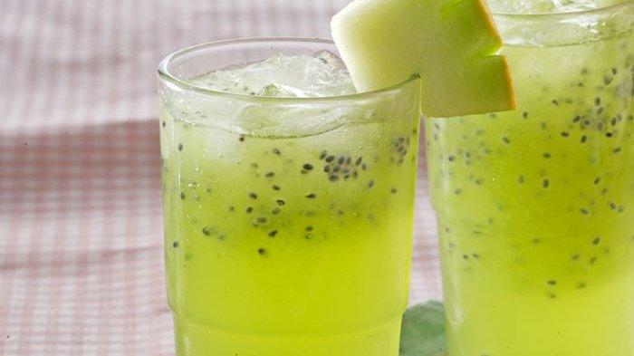 Resep Squash Melon Selasih, Minuman Segar yang Cocok Diminum Saat Cuaca Panas