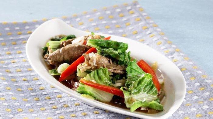 Resep Tumis Sawi Keriting, Menu Tumisan Rumahan yang Cocok Untuk Makan Malam