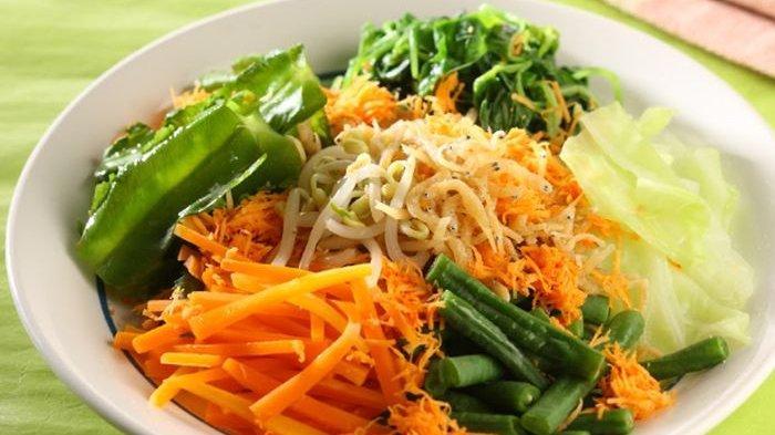 Resep Urap Bayam Tabur, Inspirasi Untuk Menu Diet Agar Tak Bosan