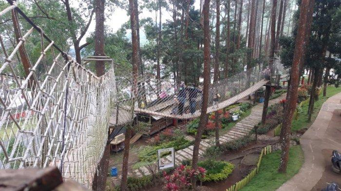 Liburan Akhir Pekan di Tawangmangu Karanganyar, Rasakan Sensasi Outbound Di The Lawu Park