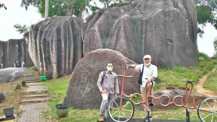Berwisata di Batu Belimbing Bangka Selatan, Granit Raksasa Berusia Jutaan Tahun