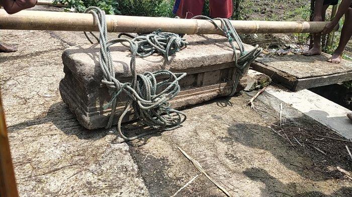 Warga Temukan Batuan Diduga Candi Peninggalan Mataram Hindu di Persawahan Klaten