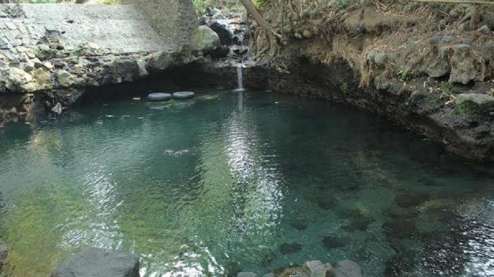 Menikmati Pemandian Mata Air Blue Lagoon di Yogyakarta, Wisata Alam yang Mengagumkan