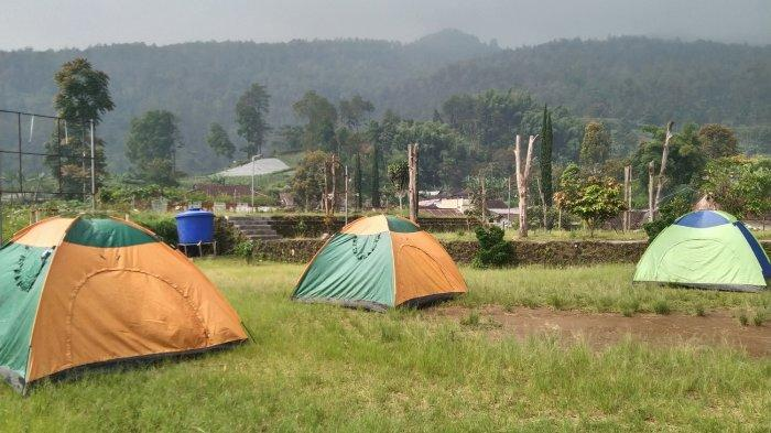 Nekat Mudik di Desa Berjo Karanganyar, Siap - siap Tidur di Tenda Selama 10 Hari