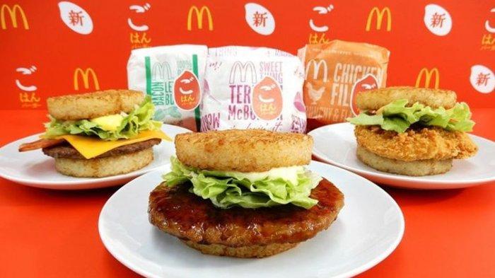 Tak Hanya di Indonesia, McDonald's Jepang Kini Tawarkan Burger dengan Nasi
