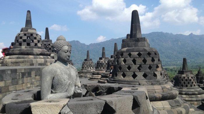 Cegah Kasus Covid-19 Melonjak, Obyek Wisata Candi Borobudur di Magelang Ditutup