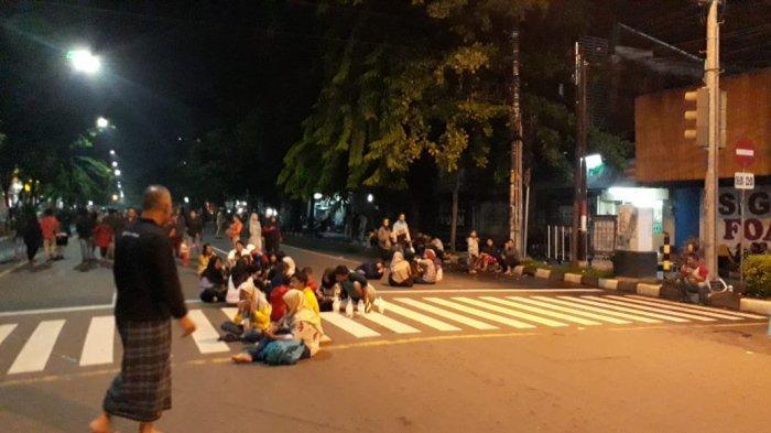 Tak Ada Pesta Kembang Api, Pengunjung Car Free Night Merasa Pergantian Tahun di Solo Sepi