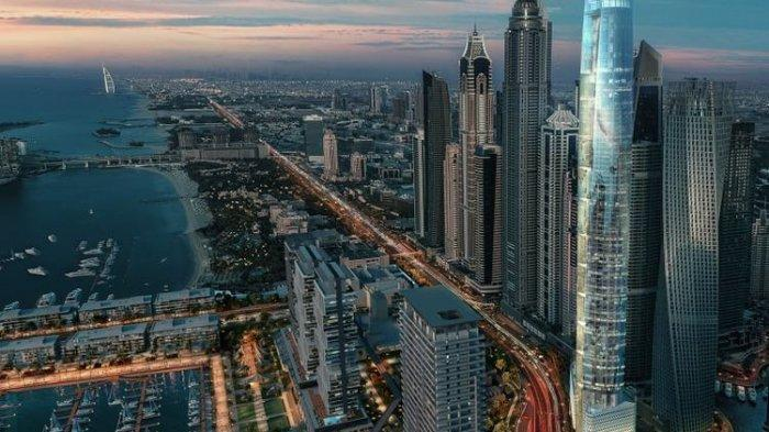 Hotel Tertinggi di Dunia, Ciel Tower Akan dibuka Pada 2020 Mendatang di Dubai