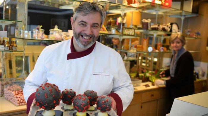 Unik, Di Tengah Pandemi, Chef Ini Ciptakan Makanan Bertema Corona Virus
