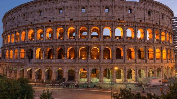 Colosseum di Roma Italia