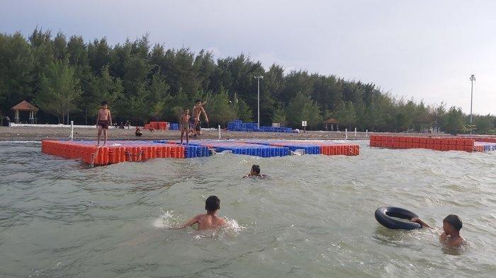 Pantai Alam Indah Tegal, Wisata Alam Suguhkan Keindahan Senja Saat Ngabuburit