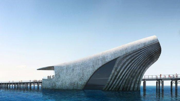 Unik, Observatorium Laut di Australia Ini Mirip Ikan Paus Raksasa