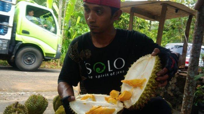 Ke Gunungkidul, Wisatawan Jangan Lupa Beli Durian Kencono Rukmi