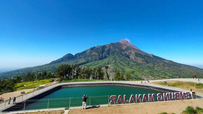 Embung Manajar di Boyolali, Tempat Wisata yang Instagramable Dengan Latar Gunung Merapi