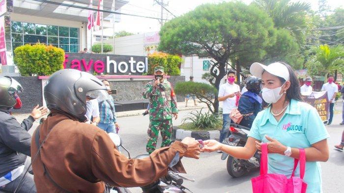 Ulang Tahun ke 9, Favehotel Manahan Solo Bagikan 1000 Masker Kepada Pengguna Jalan