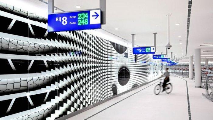 Unik! Belanda Kini Buat Garasi Sepeda Raksasa Bagi Warganya