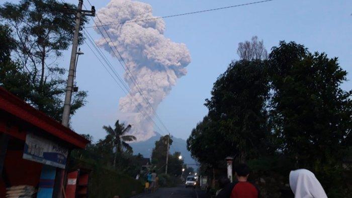 Bukan Klaten, Muntahan Guguran Lava dan Awan Panas Gunung Merapi ke Arah Sleman dan Magelang