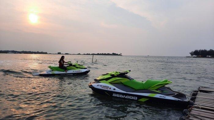 Ada Wisata Jetski di Pantai Marina Semarang, Berikut Tarifnya
