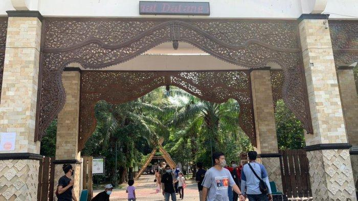 Libur Lebaran. Okupansi Taman Balekambang Meningkat, Kunjungan Wisatawan Dibatasi Maksimal 2 Jam