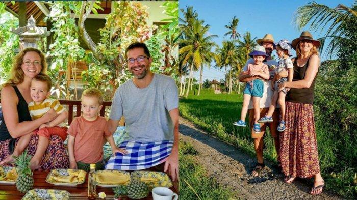 Cerita Keluarga Inggris yang Tak Bisa Kembali ke Amerika, Diisolasi di Rumah Bambu di Bali