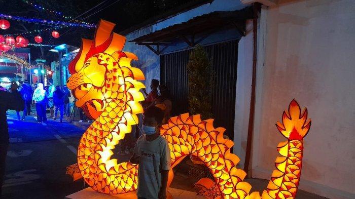 Kampung Lampion di Sarigunan Sragen Hanya Buka Dua Kali Seminggu, Ada Kuliner Tumpang Koyor