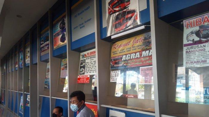 Nelangsa, Penjual Tiket AKAB di Terminal Tirtonadi Solo Harus Libur, Ada Aturan Larangan Mudik