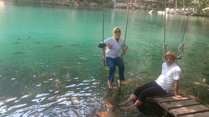 Jadi Spot Wisata Murah, Wisata Danau Biru Majalengka Ini Tawarkan Air Sejernih Kaca