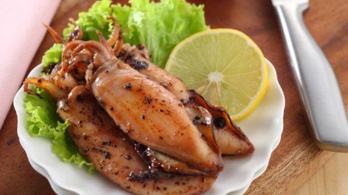 Resep Cumi Bakar Madu Merica Hitam, Menu Olahan Seafood yang Bikin Makan Jadi Lebih Puas
