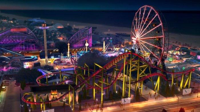Setelah Lama Ditutup, Taman Hiburan di Coney Island AS Buka Lagi