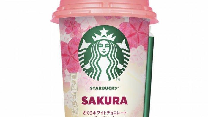 Unik, Starbucks Jepang Kini Rilis Minuman Sakura Edisi 2020