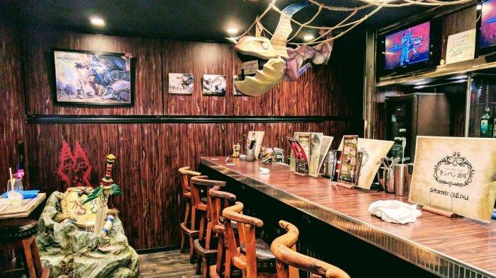 Fans Seri RPG Monster Hunter Wajib Kunjungi Cafe di Shinjuku Jepang Ini