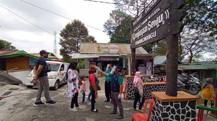 New Normal, Grojogan Sewu Wajibkan Pengunjung Terapkan Protokol Kesehatan