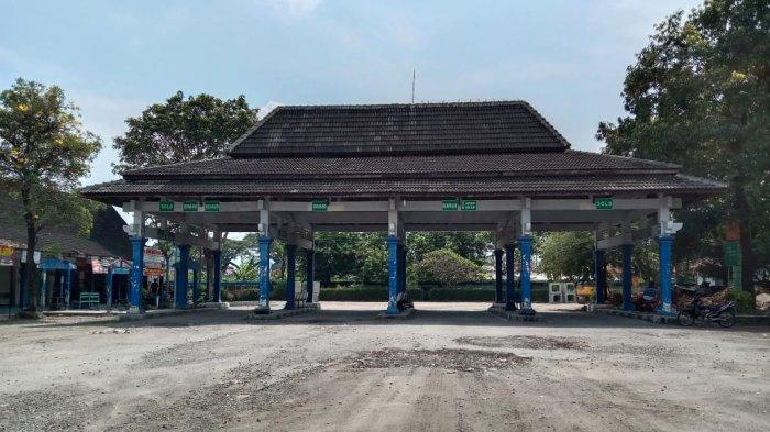 Larangan Mudik di Sragen, Kondisi Terminal Tipe B Pilangsari Kosong, Tak Ada Bis Beroperasi